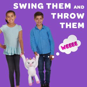 Fingerlings HUGS Interactive Plush SWING THEM