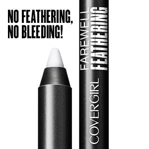 Amazon.com : Covergirl Farewell Feathering Lip Liner, Clear, 0.04 ...