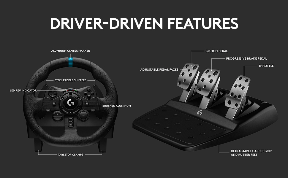 Driven features
