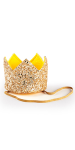 crown, gold, glitter, mini, head band, what do you do with an idea
