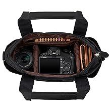 Chululu カメラ トートバッグ
