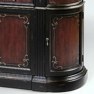 Amazon.com: Pulaski Credenza de arena, 63 by 15 by (91,4 cm ...