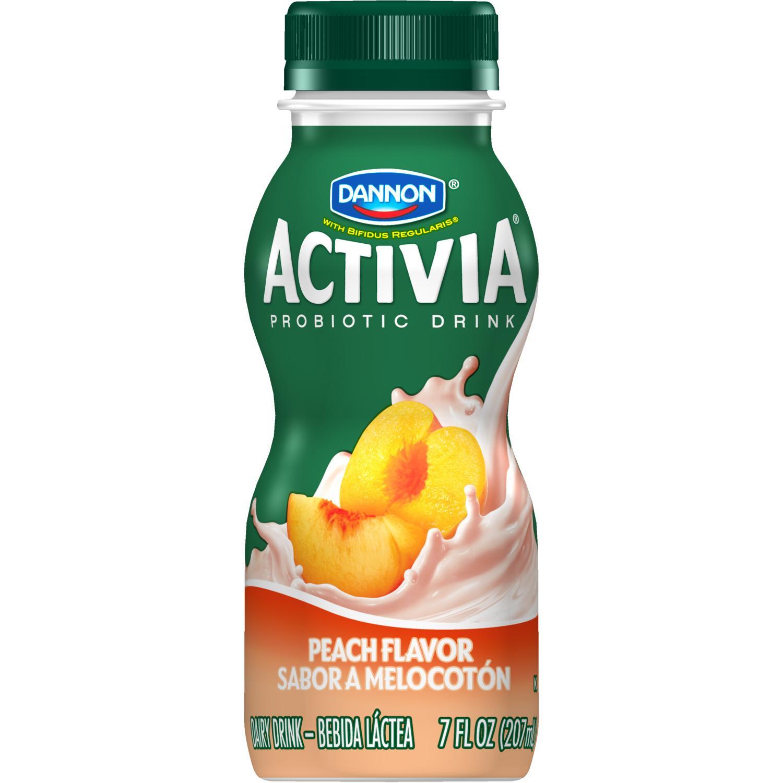 Best Yogurt With Probiotics >> Dannon Activia Drink Peach, 7 oz: Amazon.com: Grocery & Gourmet Food