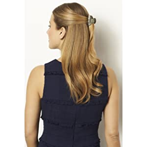 Amazon.com: France Luxe Classic Rectangle Barrette