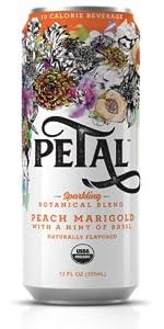 Peach Marigold Basil Petal Sparkling Botanical Beverage