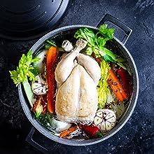 Hob to oven casserole dish