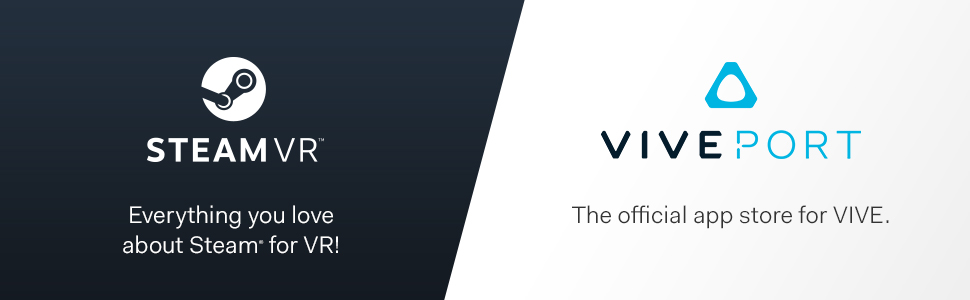 VIVE Pro, VIVEPORT, HTC VIVE, STEAM VR, Virtual Reality