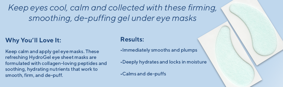 hydropeptide PolyPeptide Collagel+ Eye Masks