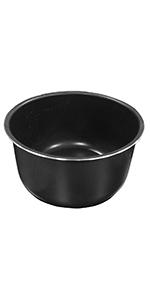 ceramic inner pot, ceramic pot, pressure cooker accessory, instant pot