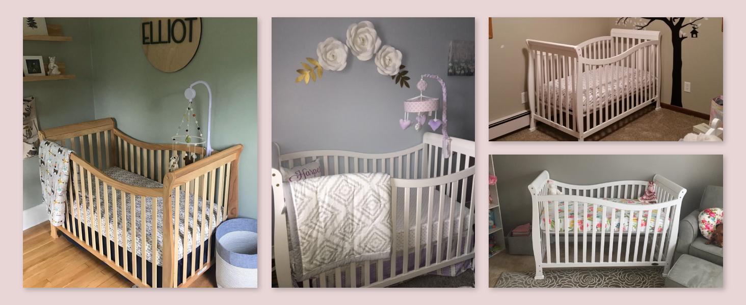 highly rated crib, 5 star crib, trusted crib, amazon favourite crib, bestselling crib, dream on me