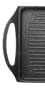 Lacor 25536 - Plancha Grill Eco Piedra 255x20 cm - Negro ...