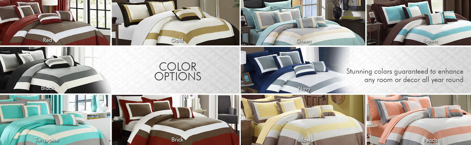 Chic Home stunning colors guaranteed to enhance any room