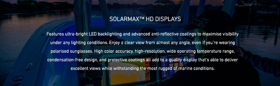 solarmax hd display, led backlighting, high-resolution, color accuracy, protective coating