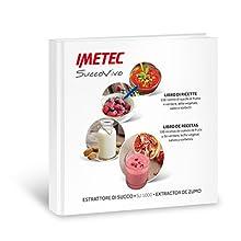 Imetec SuccoVivo SJ 1000 Estrattore di Succo professionale, Accessorio Sorbetti, Ricettario