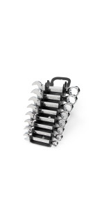 stubby combination wrench set