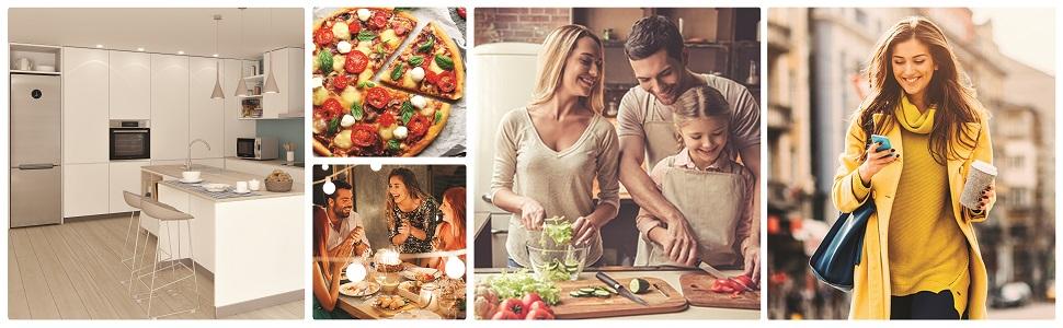 Candy CMXG 20DW Microondas con Grill y Cook In App, 40 Programas ...