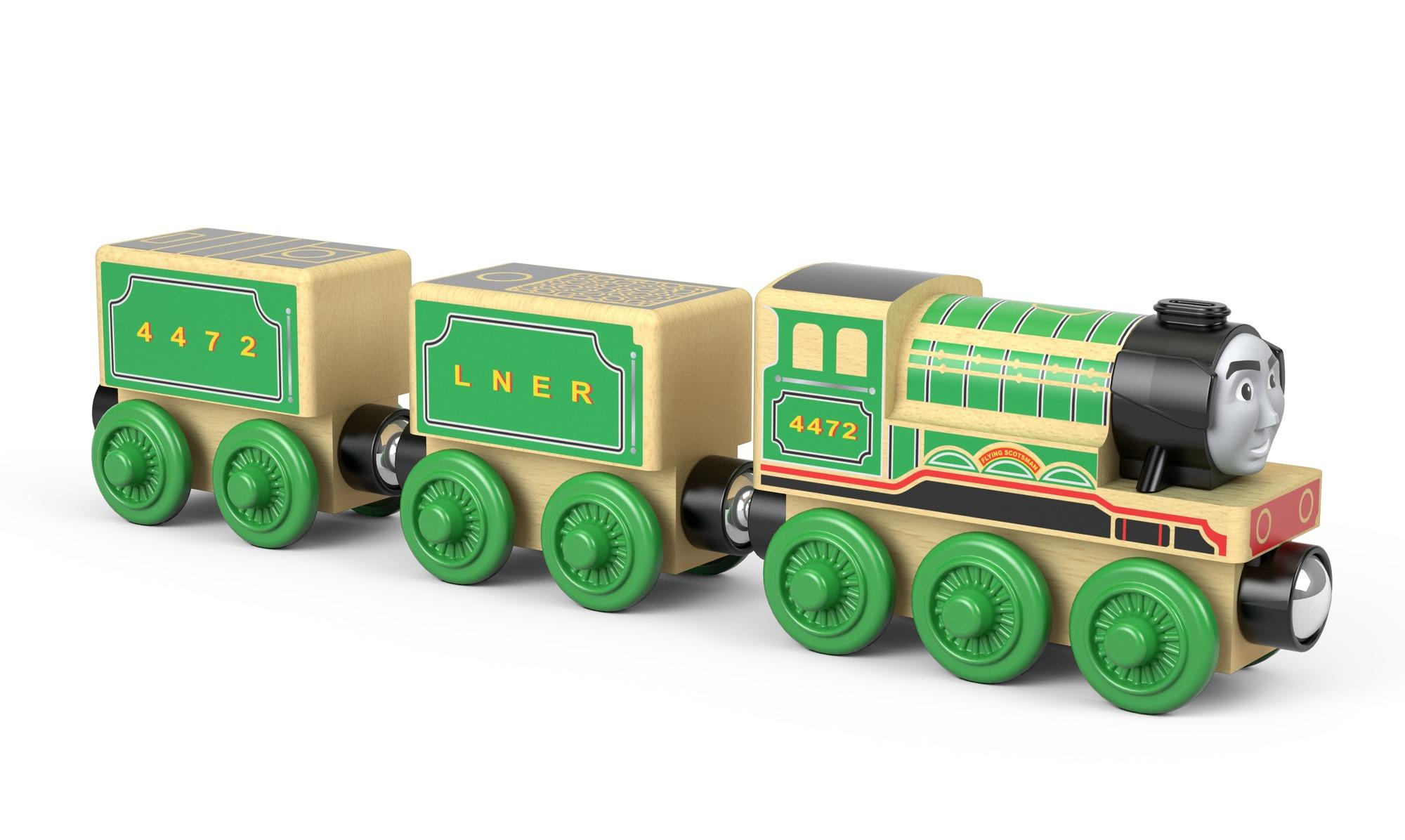 Fisher Price Thomas Friends Wood Flying Scotsman Wood Amazon