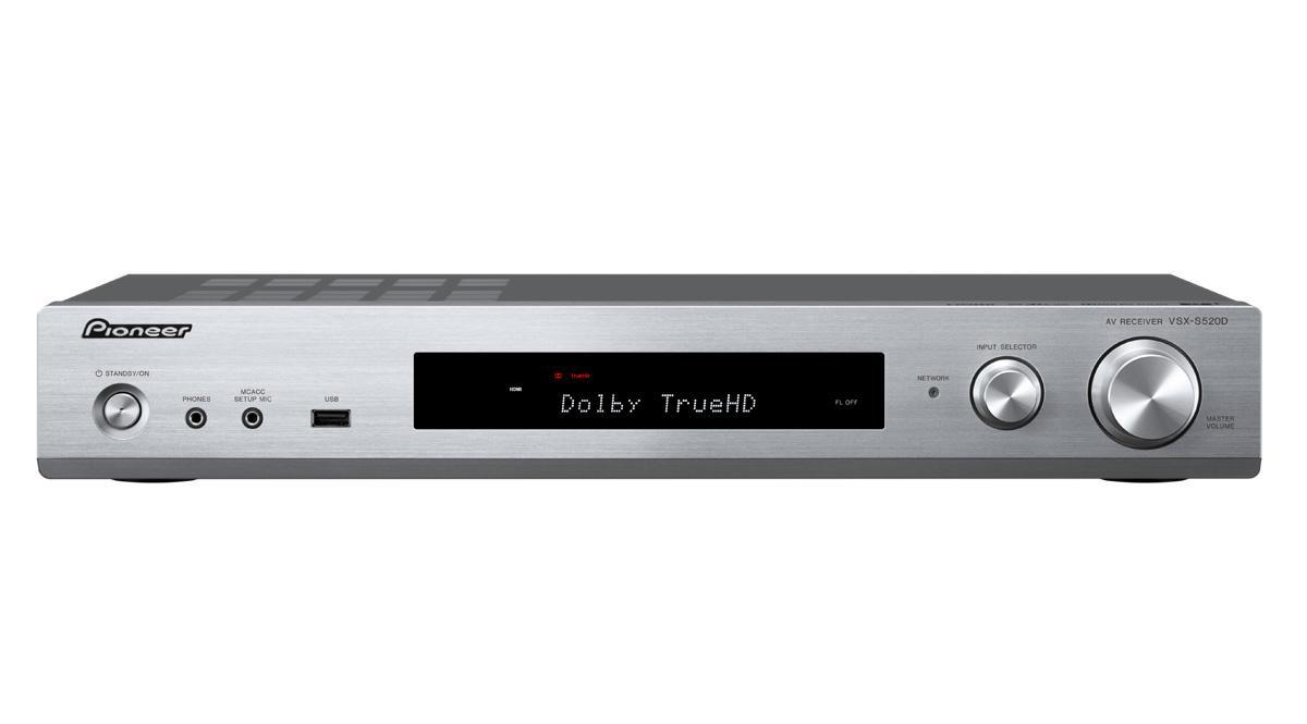 Pioneer VSX-S 520 D-S Slimline AV Receiver silber: Amazon.de: Elektronik