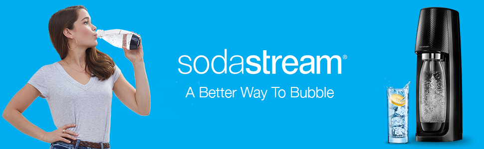 sodastream sparkling water makers