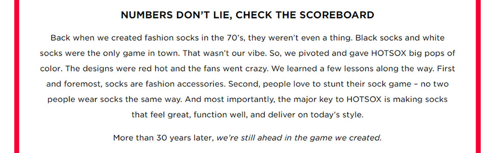 about hot sox