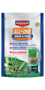 All-In-One Weed & Feed for Lawns