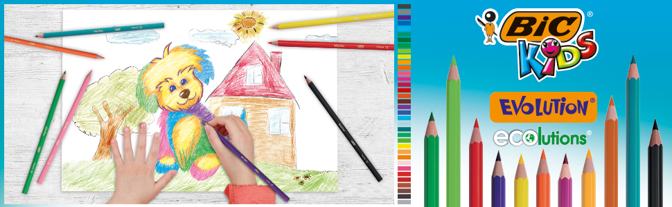 BIC Kids Colouring Pencils