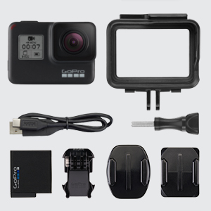 HERO7 Black In dotazione, HERO7 Black, GoPro HERO7 Black, HERO7 Black specifiche principali