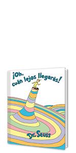 ¡Oh, cúan lejos llegarás! graduation gifts spanish books