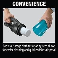 convenience bagless cloth