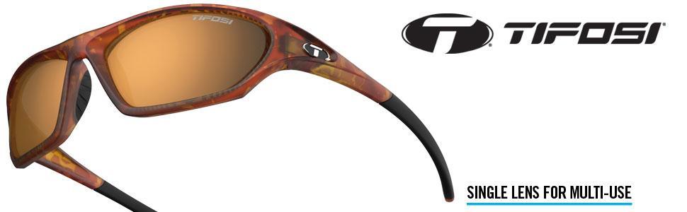 Amazon.com: Tifosi Core - Gafas de sol, Marrón, 64 mm ...