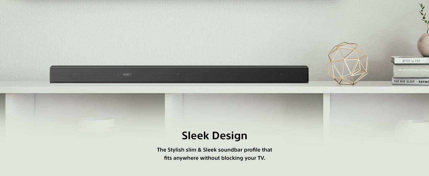 7.1.2 Surround Sound, Sleek Design
