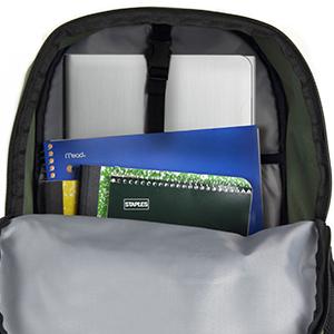 Ecogear, eco gear, back pack, backpack, storage, zipper, laptop
