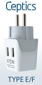 Type E/F Adapter