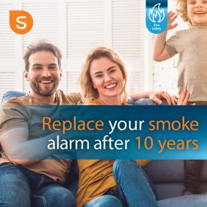 10 year smoke alarm