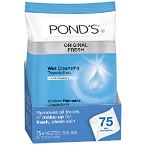 Ponds Original Fresh Wet Cleansing Towelettes