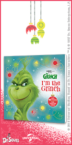 i'm the grinch, illumination, the grinch, dr. seuss, book, christmas, family, kids, movie, dvd, 4k