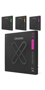 D'Addario ダダリオ コーティング弦 アコースティックギター XT