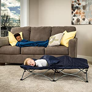 deluxe portable toddler bed