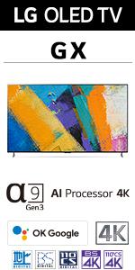GXシリーズ OLED 有機ELテレビ