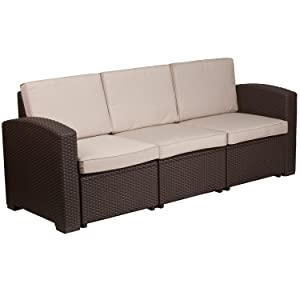 all weather cushion outdoor sofa