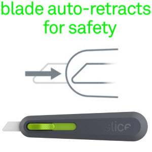 slice ceramic safety blade cutting xacto blade cut tools shipping safe