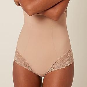Simone Perele, Simone Perele shapewear, shapewear lingerie, high waist control brief women