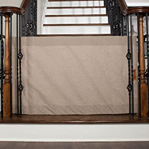 Amazon Com The Stair Barrier Baby And Pet Gate Banister To