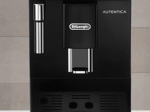 Delonghi Autentica Etam 29.510.B - Cafetera Superautomática, 1450 W, capacidad 1.3 L, muy estrecha, dispositivo cappuccino y variedad de cafés, 2 ...