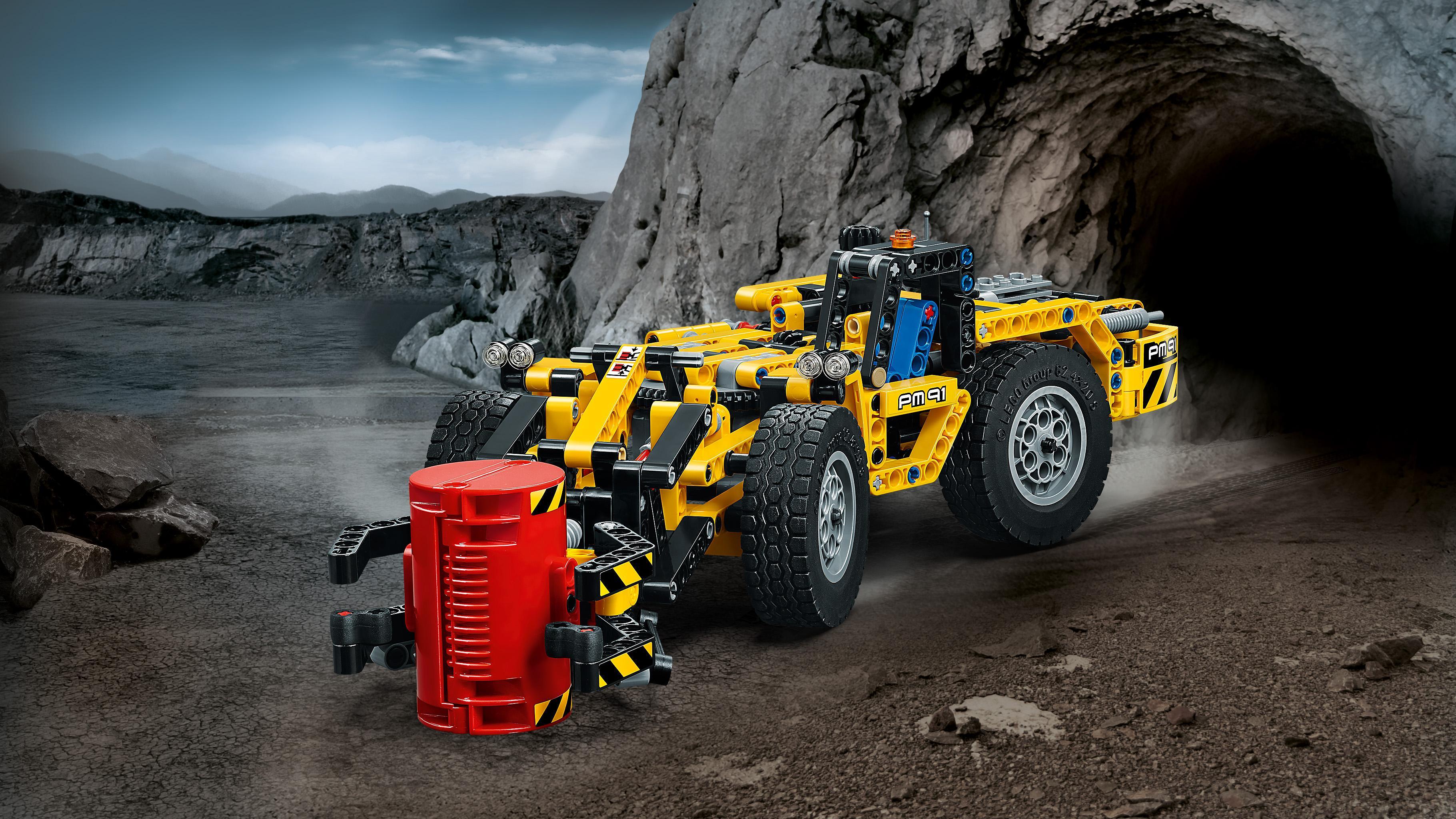 lego technic mine loader 42049 vehicle toy toys games. Black Bedroom Furniture Sets. Home Design Ideas