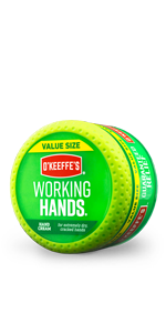 O'Keeffe's Working Hands Hand Cream Value Jar for dry cracked hands