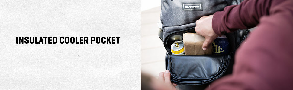 Insulated cooler pocket