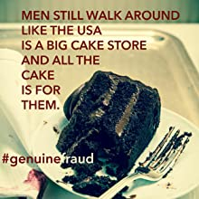 genuine fraud;we were liars;feminism;cake