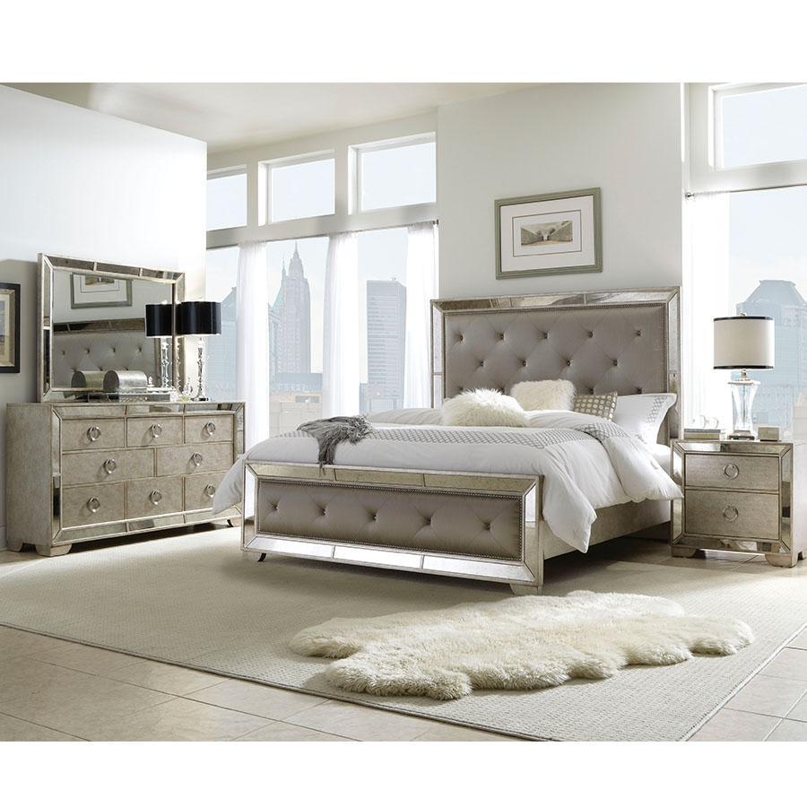 Amazon.com: Pulaski Farrah 5 Piece Bedroom Set, King