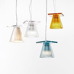 light air lampe suspension kartell